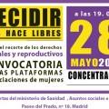 Día Internacional de Acción por la Salud de la Mujer: por el derecho a decidir sobre el aborto