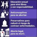 Volvemos a salir a las calles por las restricciones en la Interrupción Voluntaria del Embarazo