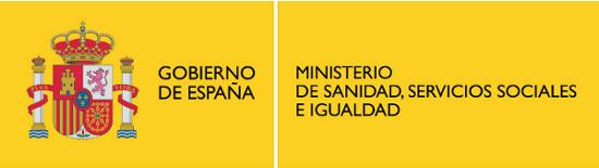 Logo Ministerio de Sanidad, Servicios Sociales e Igualdad