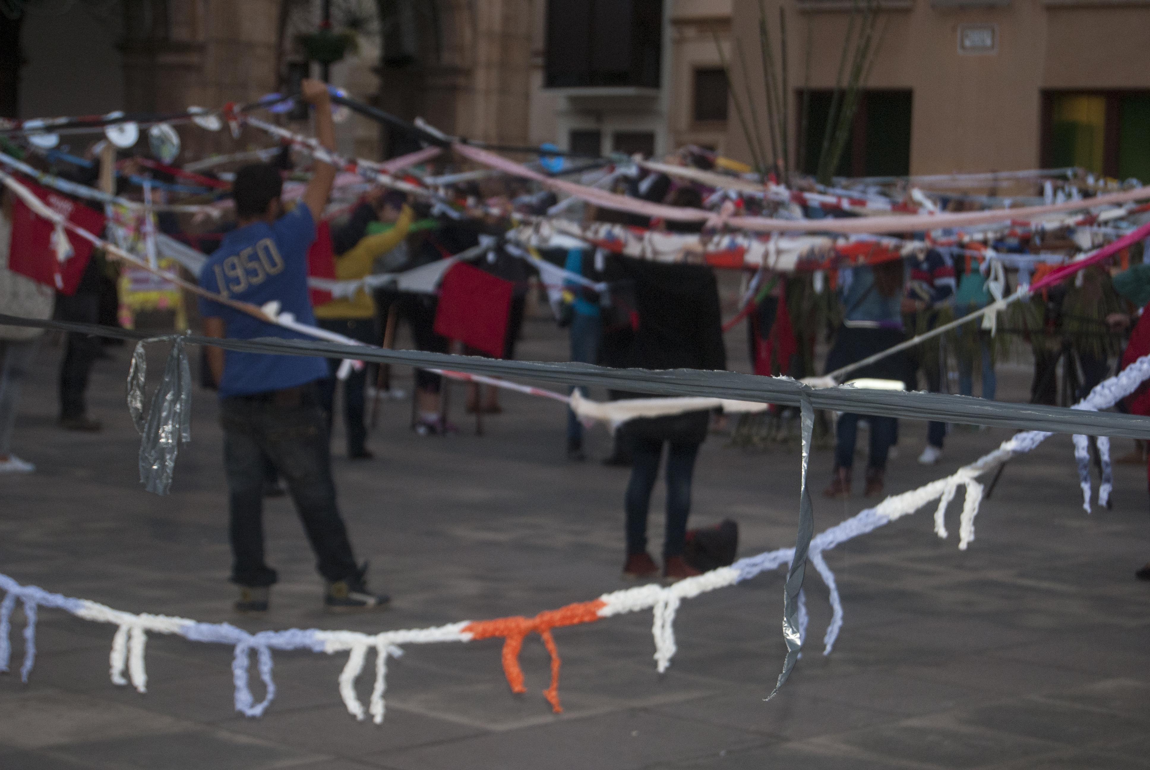 Performance Día Internacional de la Eliminación de la Violencia contra la Mujer