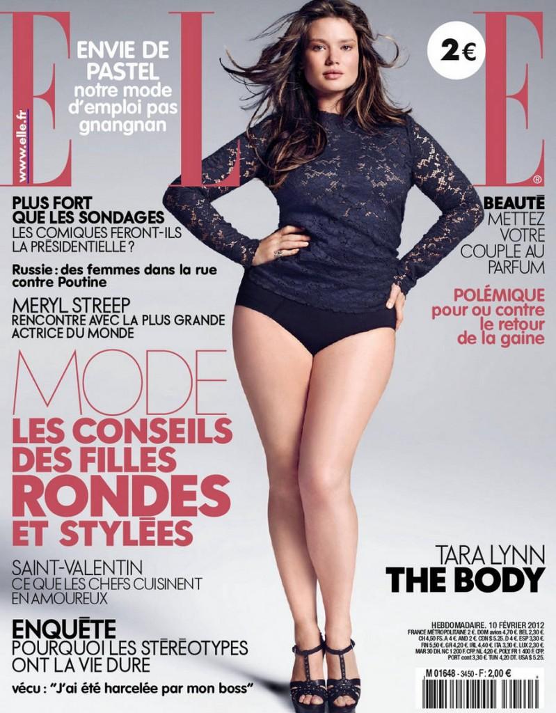 Portada de la Revista Elle