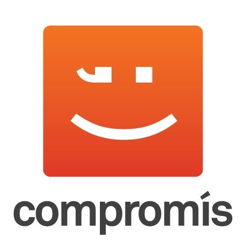 Logo del partido político Compromis