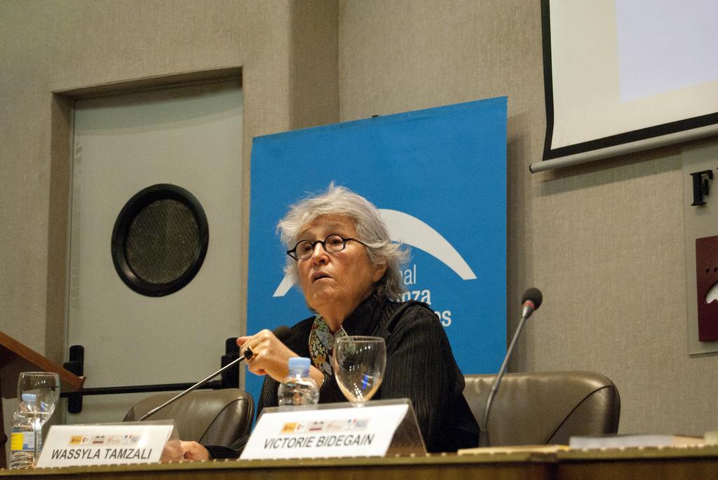 Wassyla Tamzali en la Fundación Euroarabe de Granada